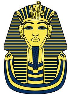 236x314 Coloring Page Tutankhamun Andre Skisser Og Tegninger