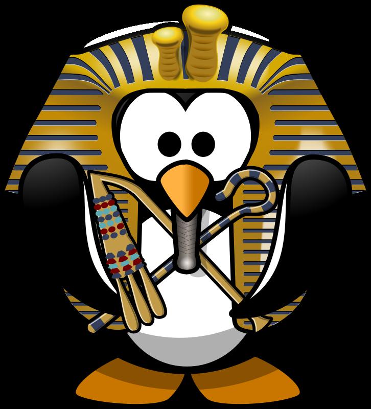 726x800 Free Clipart Tut Ankh Penguin Moini