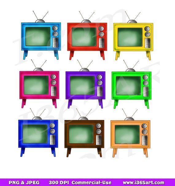 570x606 Retro Television Clipart Clip Art, Tv Clipart, Vintage Television