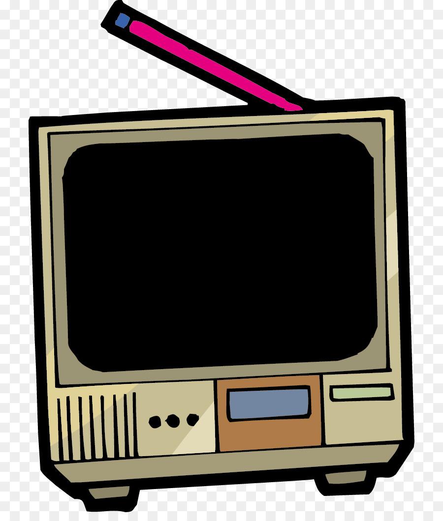 900x1060 Television Clip Art