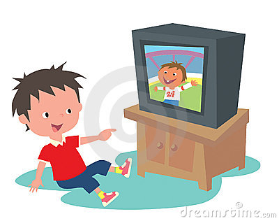 400x316 Children Watching Tv Clip Art Clipart