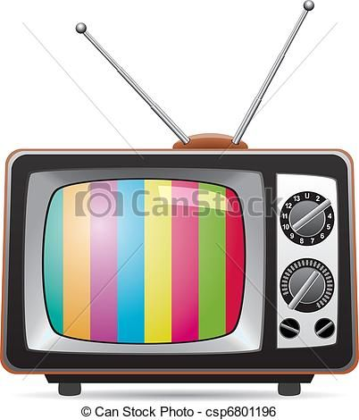 402x470 New Retro Tv Clipart Clip Art