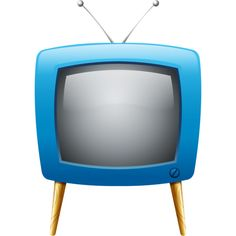 236x236 Old Television Clip Art
