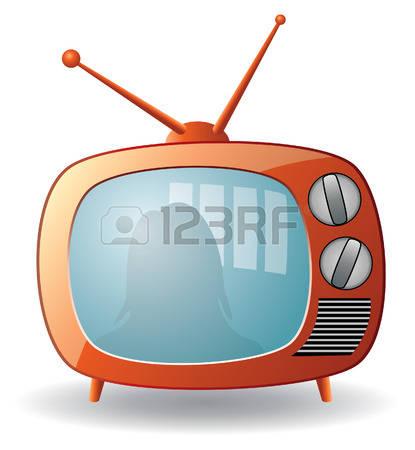 415x450 Show Clipart Television Set