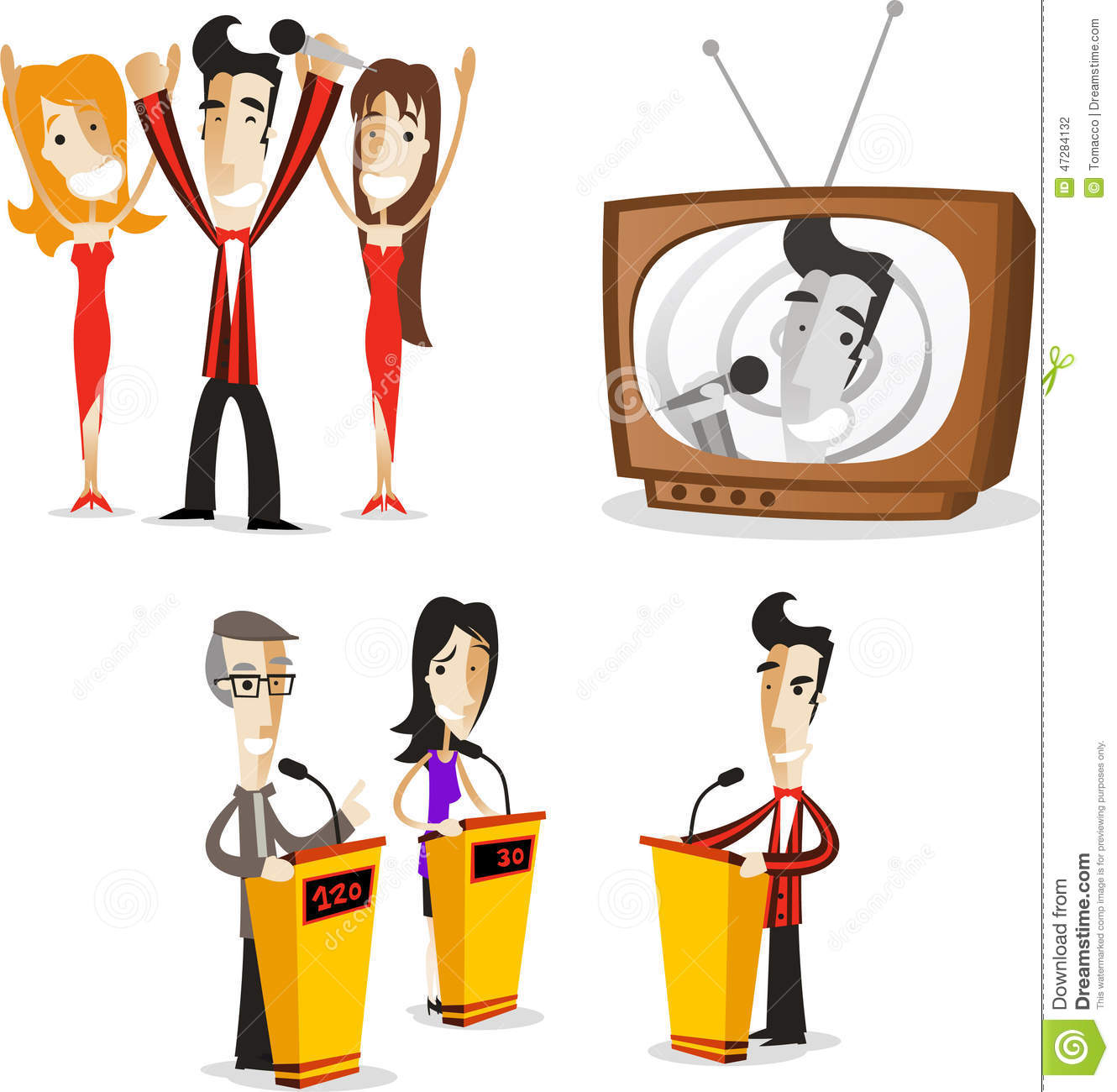 1330x1300 Tv Game Show Clipart