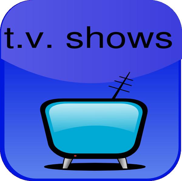 600x597 Tv Shows Clip Art