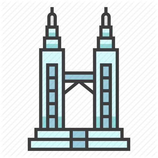 512x512 Twin Towers Clipart Free Download Clip Art