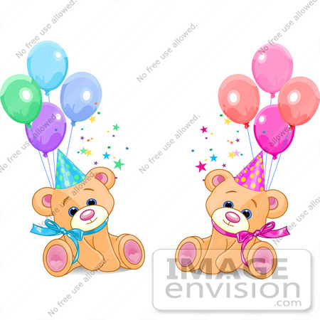 450x450 Happy Birthday Twins Clipart
