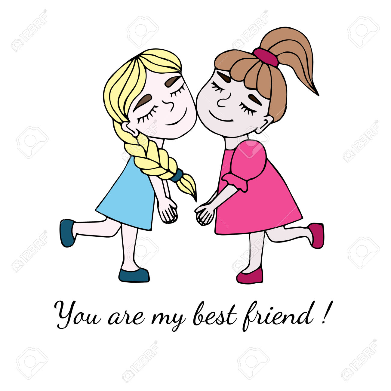 1300x1300 First Rate Best Friend Clipart Brothers Or Friends Running Royalty