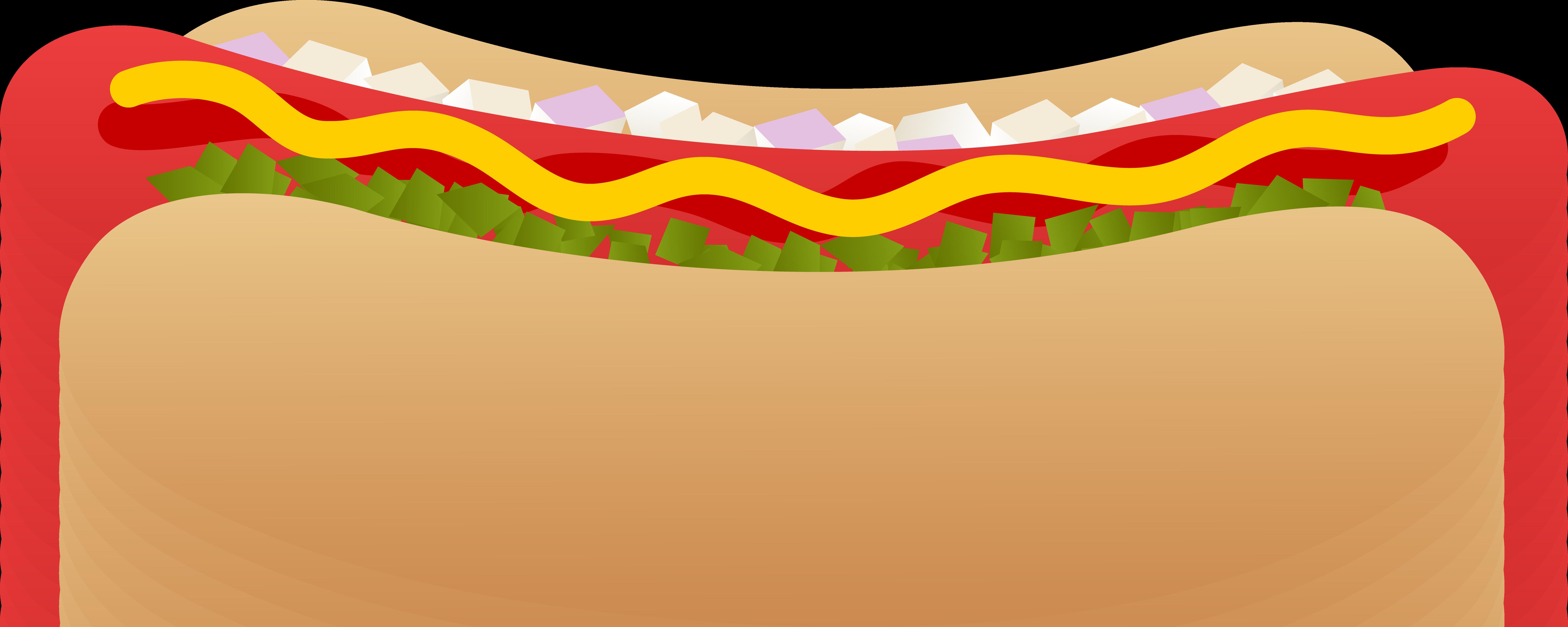 7846x3137 Hamburger Clipart Hot Dog