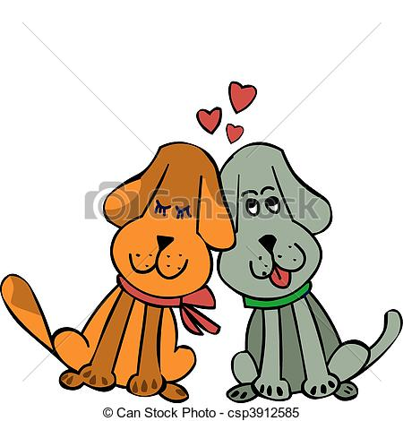450x470 Collection Of Dogs In Love Clipart High Quality, Free