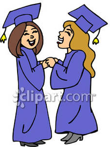 226x300 Two Girls Graduating From High School