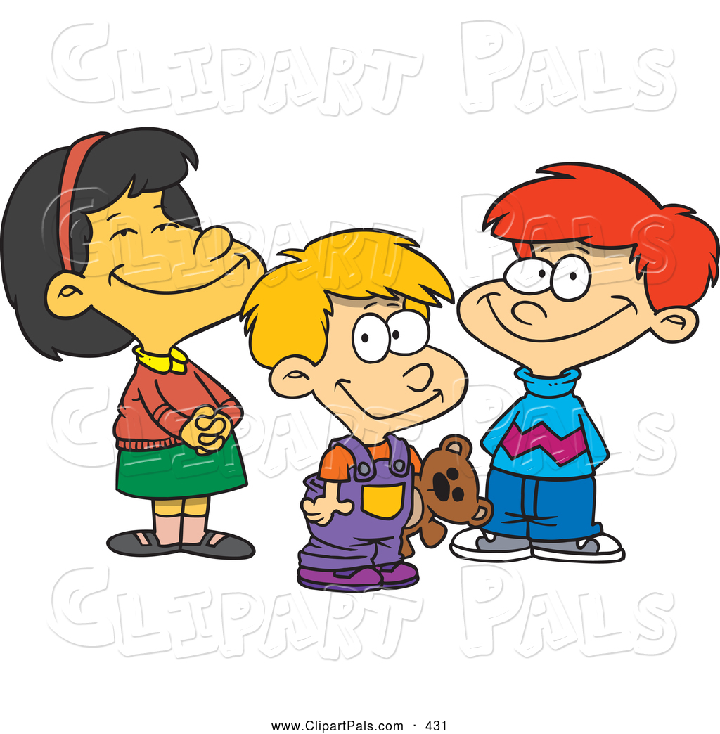 1024x1044 Cartoon Friends Clipart Collection