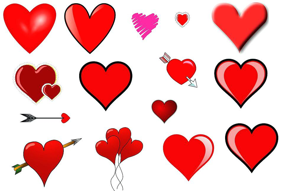 958x649 Free Clip Art Of Hearts Medium Size Of Traditional Clip Art Hearts