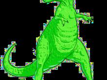 220x165 T Rex Clipart This Green T Rex Clip Art Clipart Panda Free Clipart