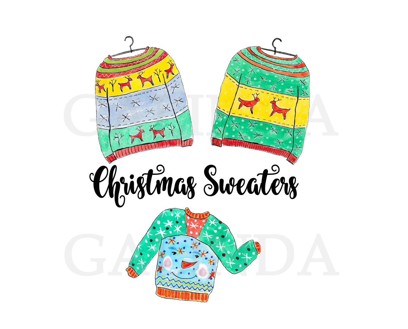 1417x1144 Christmas Clip Art,christmas Sweaters Clip Art, Ugly Sweater