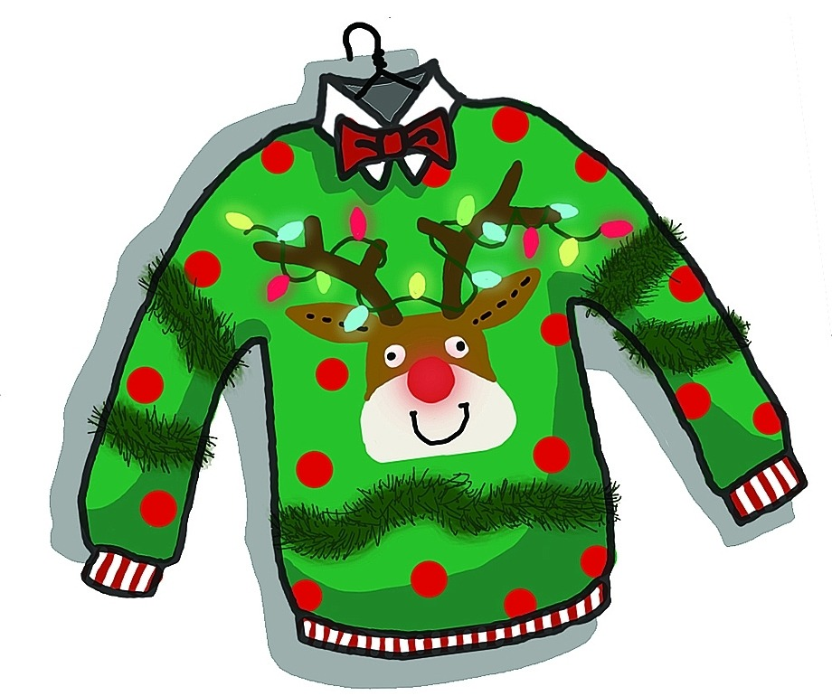 920x770 Stunning Idea Ugly Christmas Sweater Clipart Clip Art Meylah