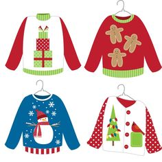 236x236 Ugly Christmas Sweater Clip Art Redneck Ugly Sweater Party Ideas