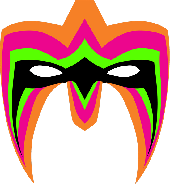 550x595 The Ultimate Warrior Clipart Photo
