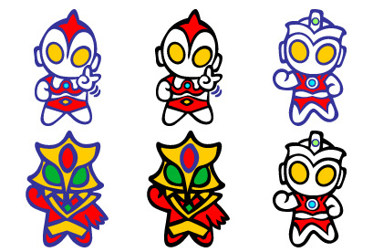 409x276 Sd Ultraman Amp Monsters Icons Pack Free Download, Free Sd Ultraman