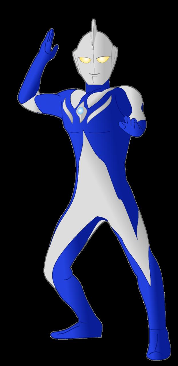 623x1282 Ultraman Cosmos Vector By Thecrazebling