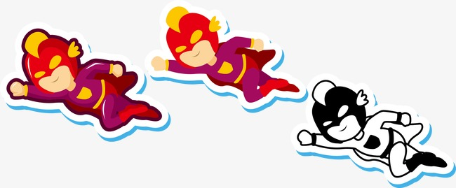 650x269 Cartoon Ultraman, Cartoon, Salted, Superman Png And Vector