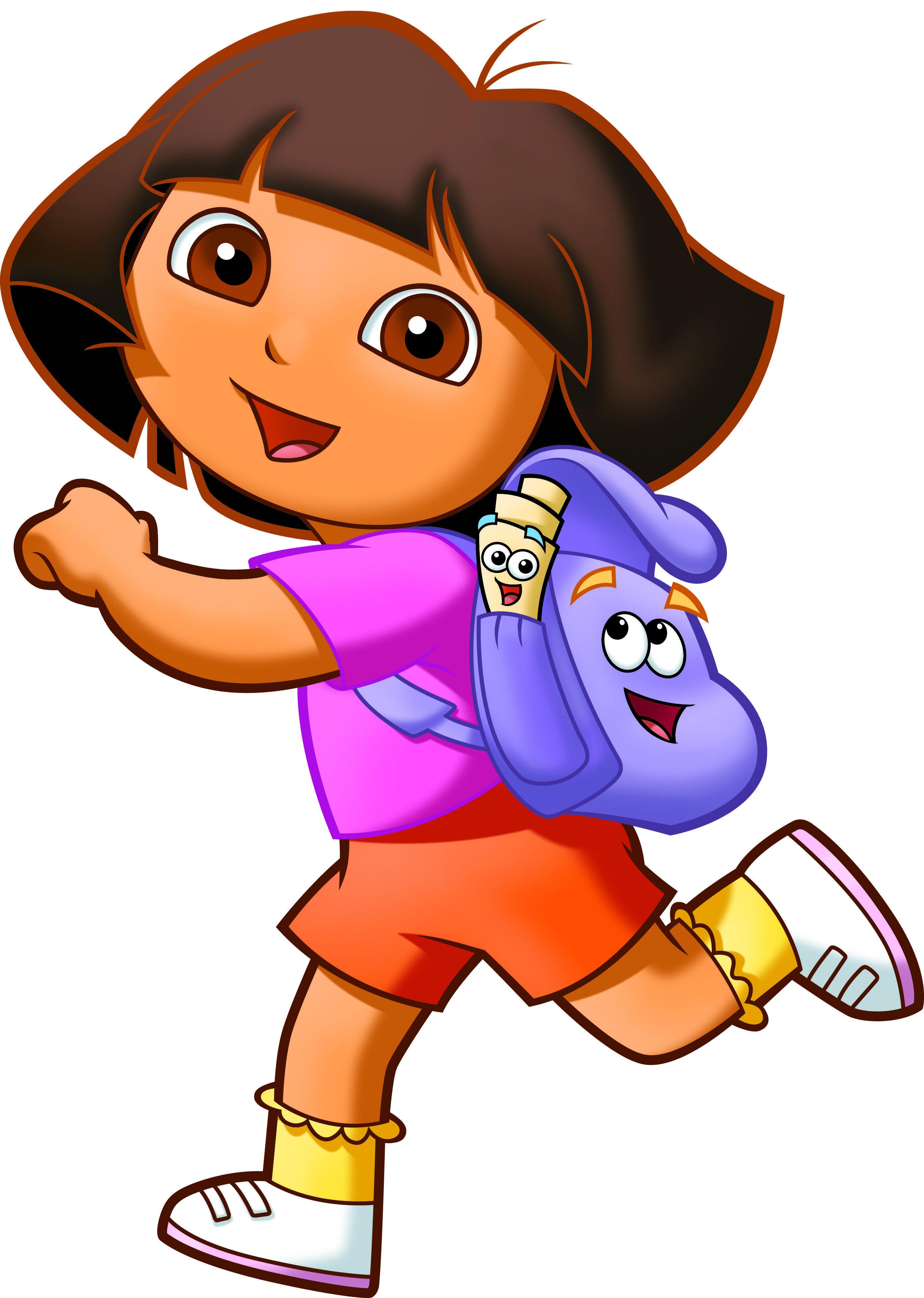 2735x3842 Dora The Explorer Halloween Clip Art