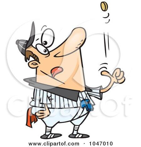 450x470 Royalty Free (Rf) Clip Art Illustration Of A Cartoon Female Umpire