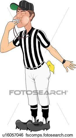 261x470 Wonderful Ideas Referee Clipart Clip Art Of U16057046 Search