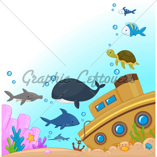 325x325 Underwater Shipwreck Gl Stock Images