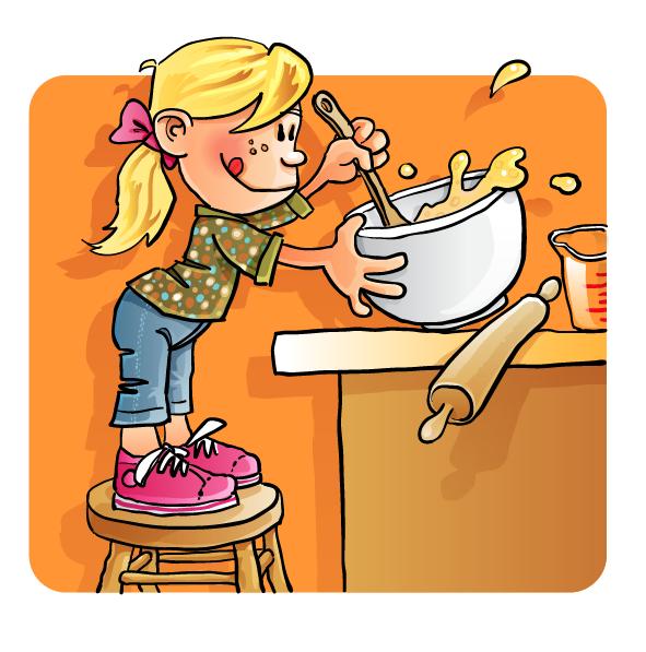 591x597 Kids Kitchen Clipart Amp Kids Kitchen Clip Art Images