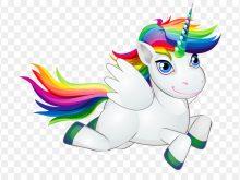 220x165 Rainbow Unicorn Clipart Pony Horse Rainbow Unicorn Clip Art Cute