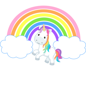 unicorn and rainbow clipart at getdrawings com free for clip art raindrops clip art rainy day