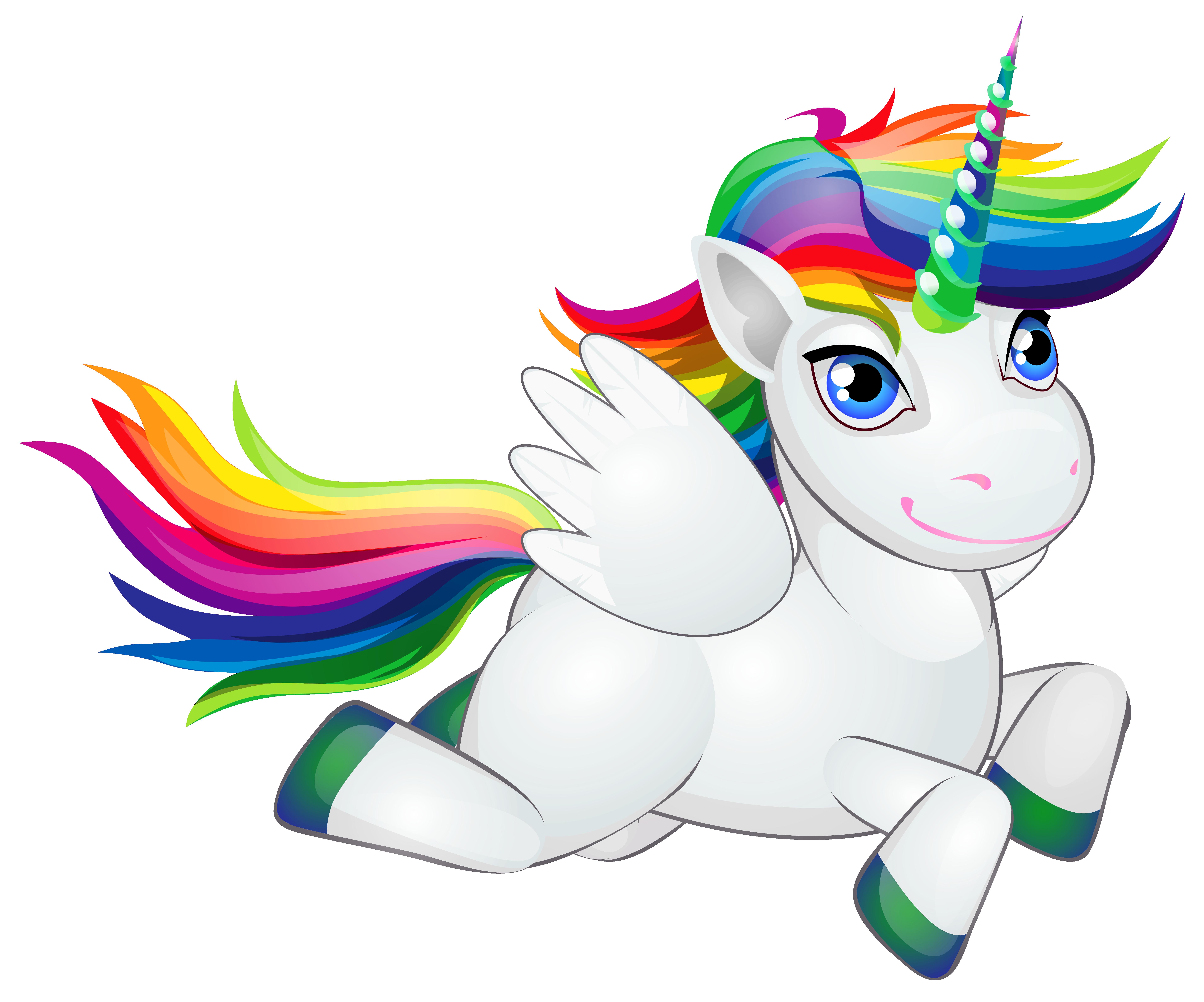 7642x6363 Cute Rainbow Pony Png Clip Art Imageu200b Gallery Yopriceville