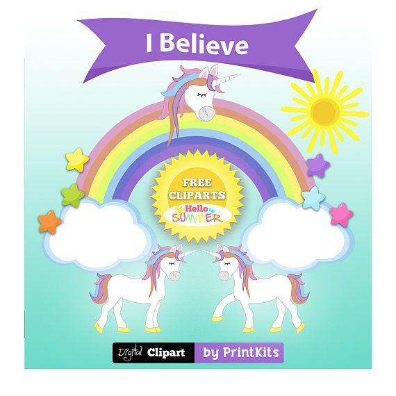 570x570 Cute Unicorn Clipart Rainbow Unicorn Clip Art Unicorns Party