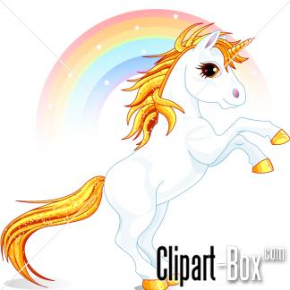 324x324 Clipart Prancing Unicorn And Rainbow Kid's Art
