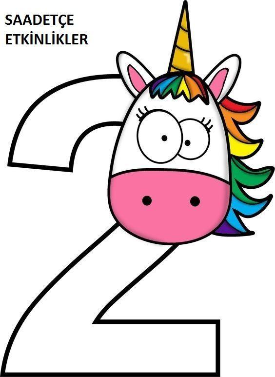 564x773 Pony Sayilar Renkli Sayfalari Pony, Autism