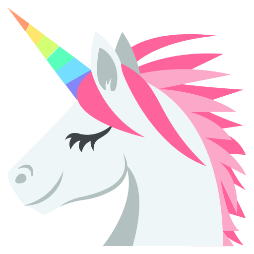 512x512 Unicorn Face Emoji For Facebook, Email Amp Sms Id  1481 Emoji.co.uk