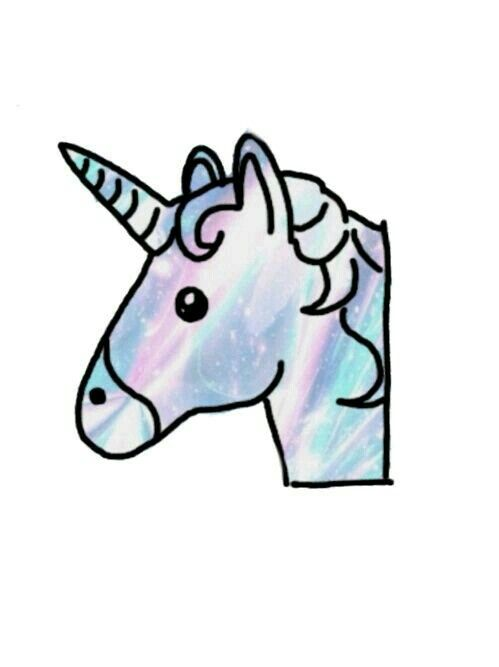 Unicorn Emoji Clipart At Getdrawingscom Free For Personal Use