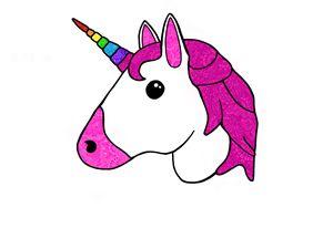 300x225 Unicorn Mandala Emoji