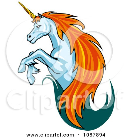 450x470 Royalty Free (Rf) Unicorn Logo Clipart, Illustrations, Vector