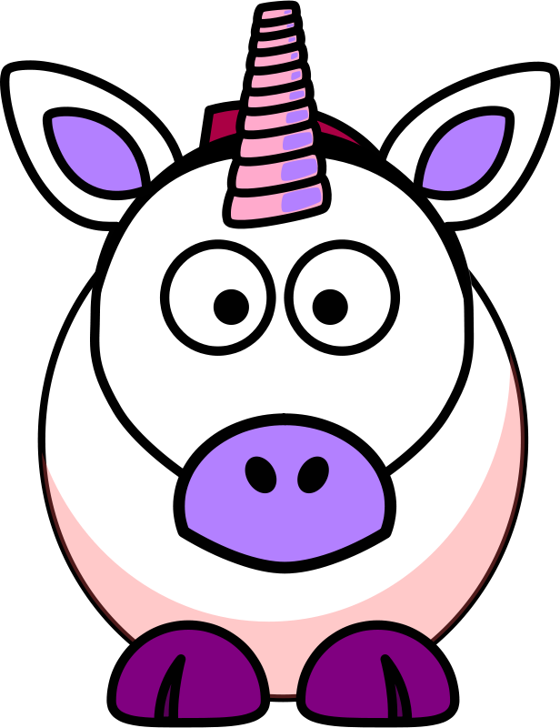 616x800 Free Clipart Cartoon Unicorn Spacefem