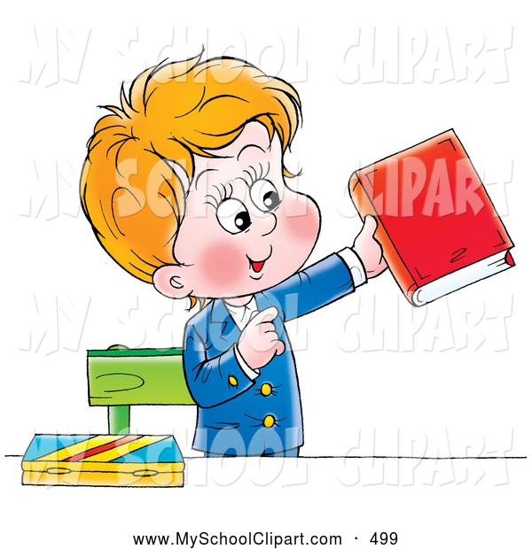 600x620 Clip Art Of A Smiling School Boy In His Uniform, Standing