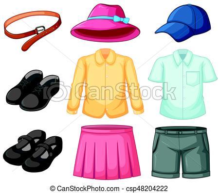 450x398 Girl And Boy Uniform Set Illustration Vector Illustration