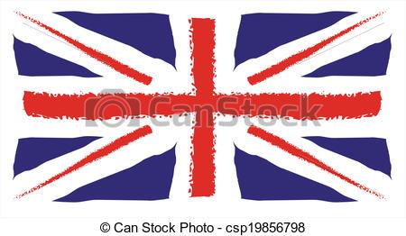 450x262 Hand Drawing United Kingdom Flag Eps Vectors