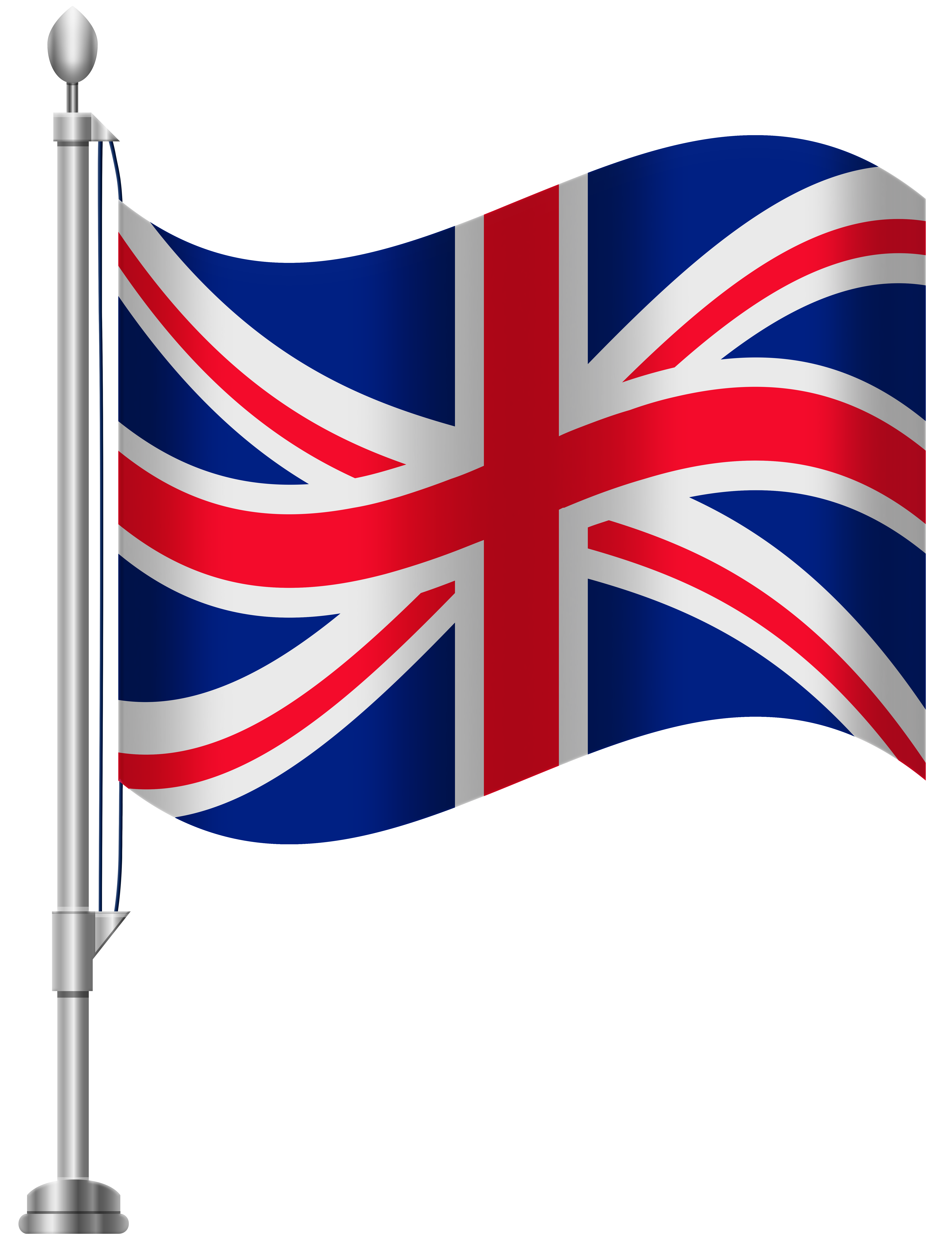 6141x8000 United Kingdom Flag Png Clip Art