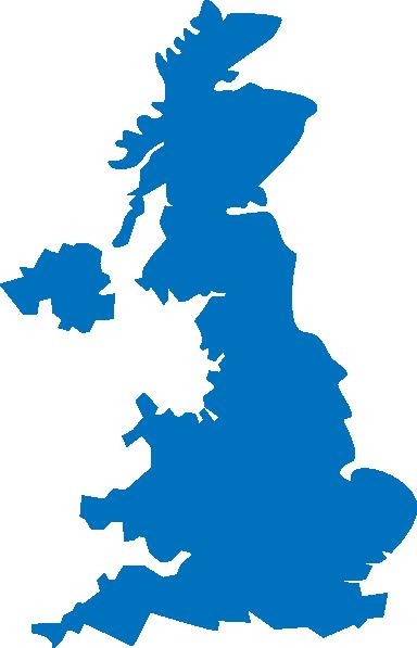 384x597 United Kingdom Map Clip Art
