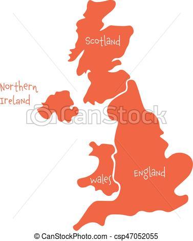377x470 United Kingdom, Aka Uk, Of Great Britain And Northern Clipart