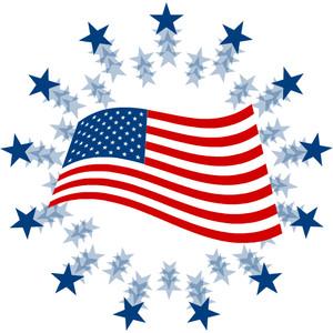 300x300 American Flag Free Flag Clip Art Clipart