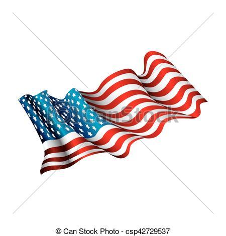 450x470 United States Of America Flag Vector Illustration Design Vectors